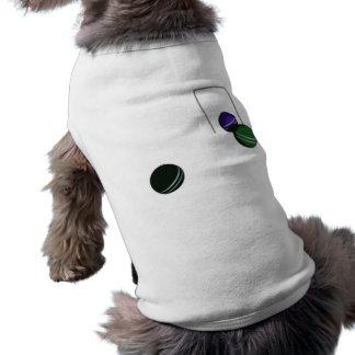 Bolas de croquet ropa de perros