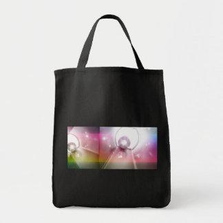 bolas de discoteca brillantes bolsas lienzo