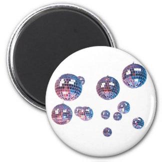 bolas de discoteca imán redondo 5 cm