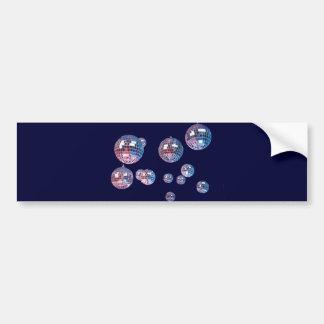 bolas de discoteca pegatina para auto
