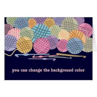 Bolas de encargo del color de la tarjeta de regalo