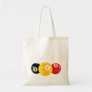 Bolas de juego de la piscina bolsa tela barata