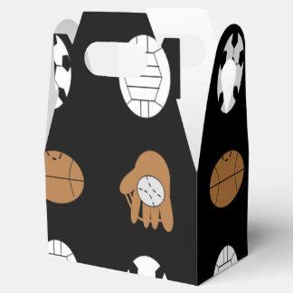 Bolas de los deportes caja para regalos