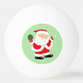 Bolas de los tenis de mesa de Papá Noel Pelota De Tenis De Mesa