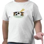 Bolas de masa hervida sazonadas del MOO del MOO Camisetas