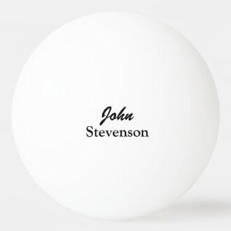 Bolas de ping-pong conocidas personalizadas para pelota de ping pong