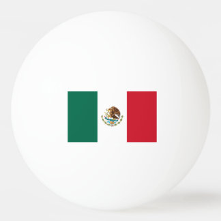 Bolas de ping-pong de la bandera de México para lo Pelota De Tenis De Mesa