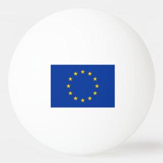 Bolas de ping-pong europeas de la bandera para los pelota de tenis de mesa