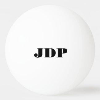 Bolas de ping-pong personalizadas del monograma pelota de tenis de mesa