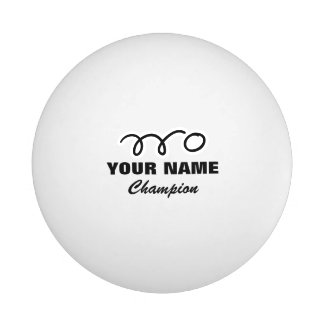 Bolas de ping-pong personalizadas para el juego de pelota de ping pong
