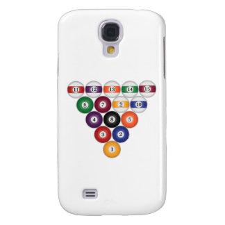 Bolas de piscina/billares: caso del iPhone 3G Samsung Galaxy S4 Cover