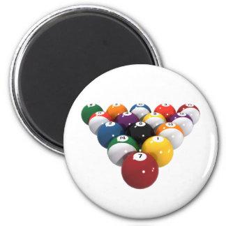 Bolas de piscina/billares: modelo 3D: Imán Redondo 5 Cm