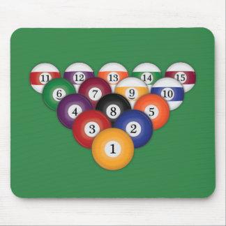 Bolas de piscina/billares: Mousepad Tapete De Raton