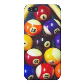 ¡Bolas de piscina - Em del estante para arriba! iPhone 5 Carcasa