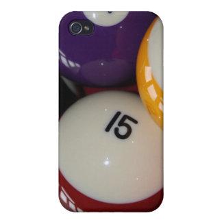 Bolas de piscina IPod iPhone 4 Carcasas