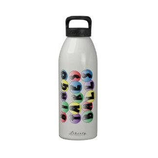 Bolas del bingo botellas de agua reutilizables