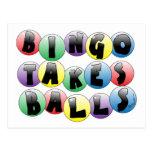 Bolas del bingo postal
