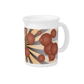 Bolas del chocolate jarras para bebida