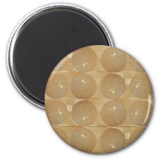 Bolas del mármol de ÓNIX - joyas de oro del trigo Iman De Nevera