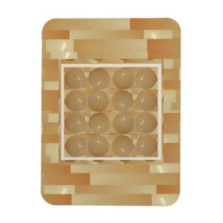 Bolas del mármol de ÓNIX - joyas de oro del trigo Imán Flexible