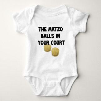bolas del matzoh mameluco de bebé