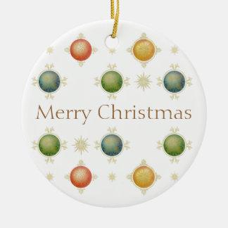 bolas del navidad adorno navideño redondo de cerámica