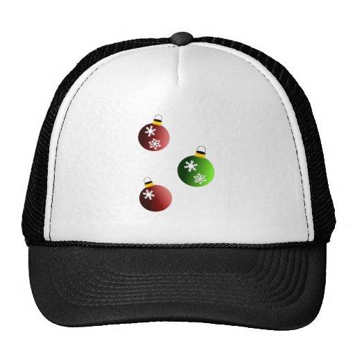 Bolas del navidad gorras