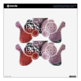 Bolas del navidad mando PS3 calcomanía