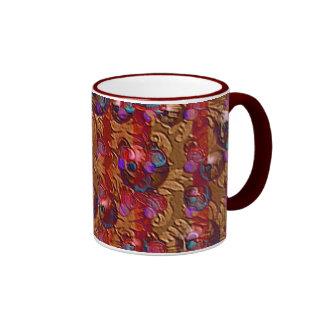 Bolas del navidad tazas de café