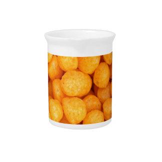 Bolas del queso jarra de beber