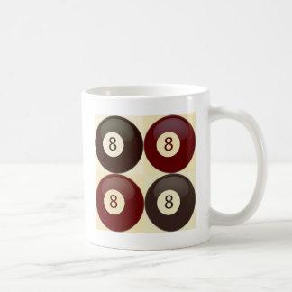Bolas del vintage 8 taza clásica