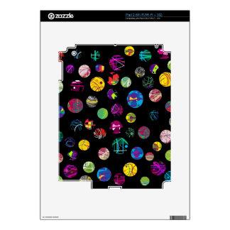 Bolas juguetonas calcomanías para iPad 2