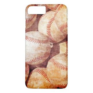 Bolas llevadas vintage sucio del deporte del funda iPhone 7 plus