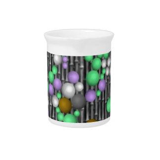 bolas locas del mosaico jarrones