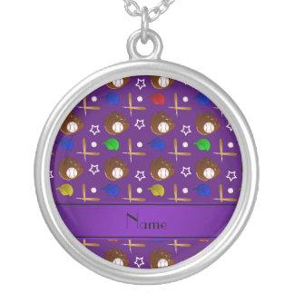 Bolas púrpuras conocidas personalizadas de los grimpolas