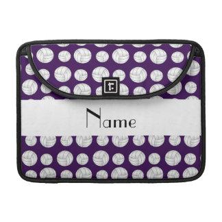 Bolas púrpuras conocidas personalizadas del funda para macbook pro