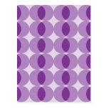 Bolas púrpuras tarjetas postales