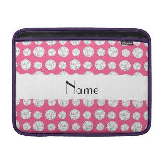 Bolas rosadas conocidas personalizadas del voleibo funda  MacBook