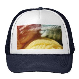 Bolas suaves del hilado gorra