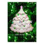 Bolas y árbol del navidad, verdes
