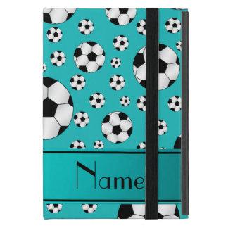 Bolas y raya conocidas de encargo de fútbol de la iPad mini carcasa