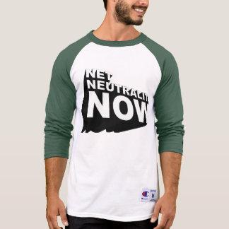 Bold 3D Net Neutrality Now T-Shirt