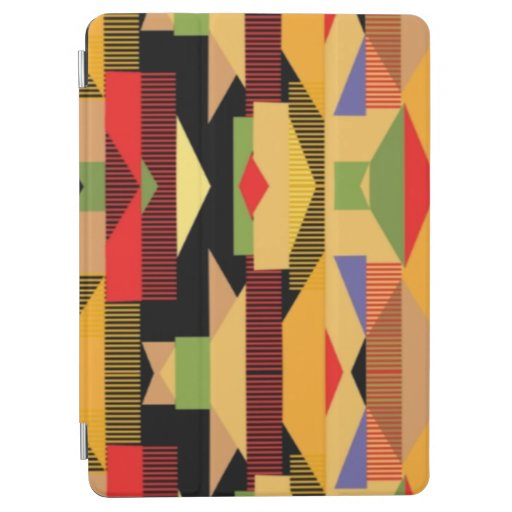 Bold Abstract African Print iPad Air Cover