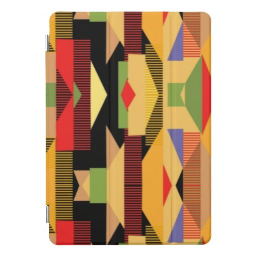 Bold Abstract African Print iPad Pro Cover
