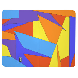 Bold Abstract Colorful Journal