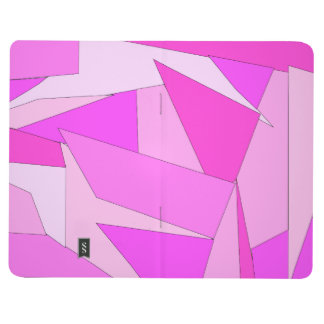 Bold Abstract Pink Journal