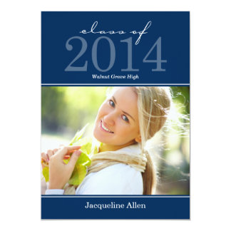 "Bold and Beautiful Graduation Invitation 5"" X 7"" Invitation Card"