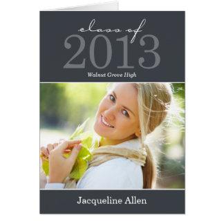 Bold and Beautiful Graduation Thank You Card