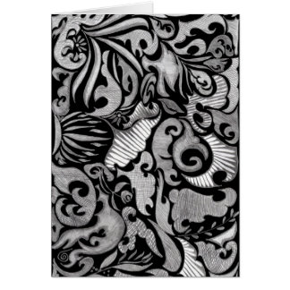Bold and Beautiful Stationery Note Card