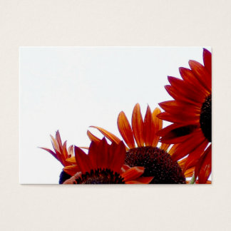 Bold and Bright Sunflowers Business Card